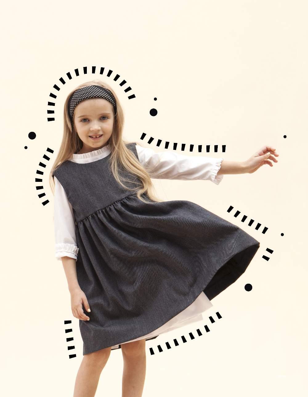 0bf22d66ecfaa2 І запевняють, що гарна шкільна сукня дозволить крихітці відчувати себе  найважливішою у всьому світі. Батьки ж можуть бути впевнені в якості та  зручності ...