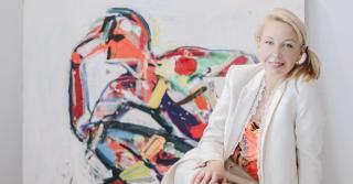 """Ганна Криволап: """"Главная задача человека - дать жизнь самому себе"""""""