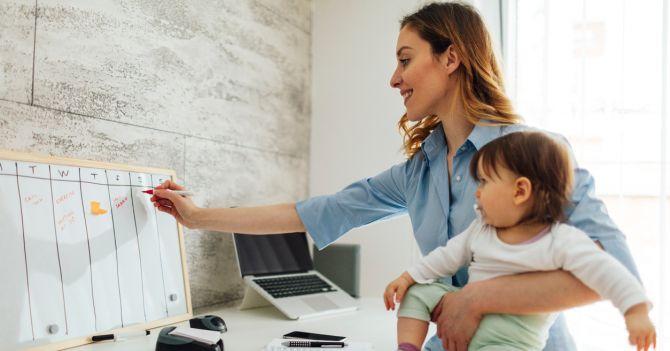 С ребенком на руках: Как эффективно распланировать день