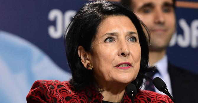 Президентом Грузії стала Саломе Зурабішвілі