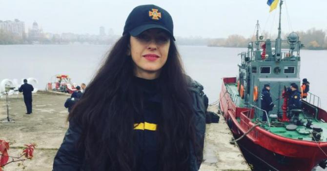Юлія Чернєва про роботу хіміка-рятувальника