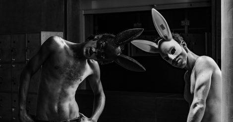 Вистава «За двома зайцями»
