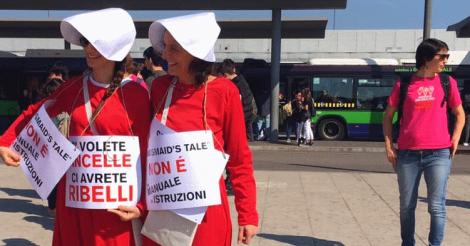 Назад в Средневековье?! Итальянцы вышли на марш против Всемирного конгресса семей