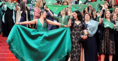 Que Sea Ley: У Каннах пройшла акція проти закону про заборону абортів в Аргентині