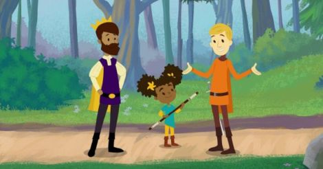 Самый смелый рыцарь: На экраны выйдет мультик о папах-геях