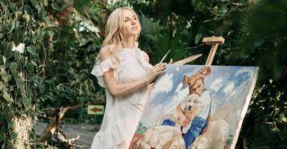 """Анна Чичеріна: """"Надихає те, що за допомогою своїх картин я можу спілкуватися з людьми без слів"""""""