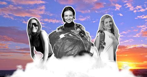 Вільне падіння: Три жінки про парашутний спорт