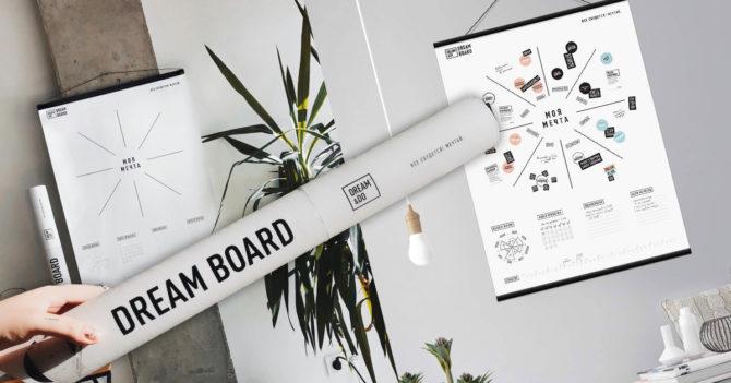 WoMo-находка: Карта визуализации желаний Dream Board