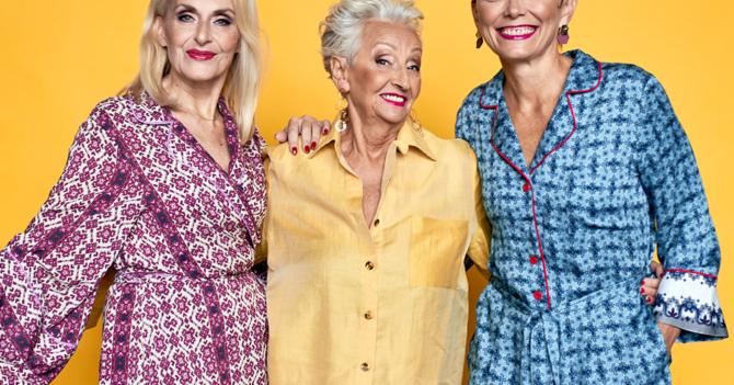 Возрастные модели сказали нет эйджизму