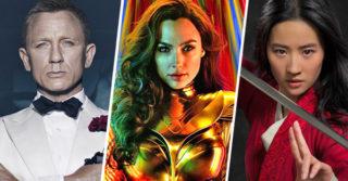 Самые захватывающие фильмы в кинотеатрах в 2020 году