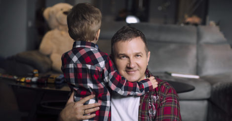 """Татко на екрані: Юрій Горбунов про батьківську любов, акторські мрії та свій """"темний бік"""""""