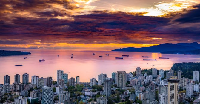 Ванкувер, провінція Британська Колумбія: Життя на карантині
