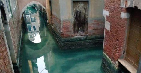 Каналы Венеции стали чище в условиях коронавируса