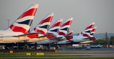 British Airways может временно уволить около 36 000 сотрудников