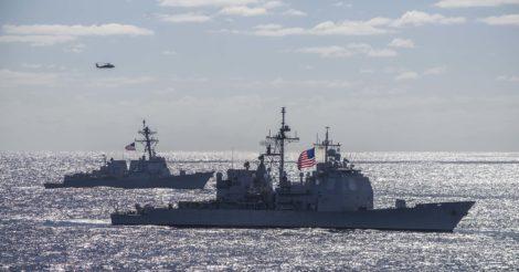 Еще на одном военном корабле ВМС США зафиксирован COVID-19