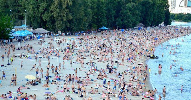 Пляжи Киева не будут открывать 1 июня
