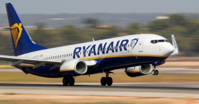 Ryanair запустит только половину маршрутов из Украины