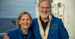 Первая женщина, которая побывала в космосе спустилась на дно Марианской впадины