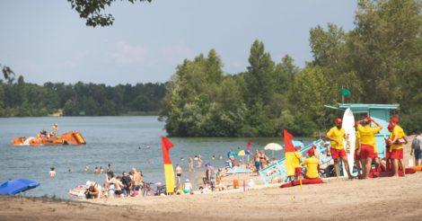 На киевских пляжах разрешили купаться