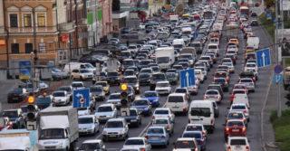 Киев занял 2 место в мире по загрузки трафика