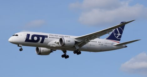 LOT возобновляет рейсы в Европу из Украины