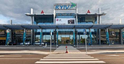 """Аэропорт """"Киев"""" отменил все запланированные рейсы"""