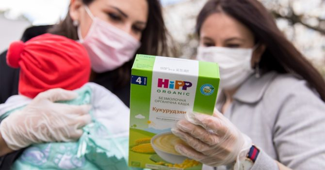 HiPP і «Ложка Турботи» для самотніх мам: допомагати — легко!