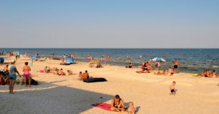 На пляжах Азовского моря будет работать Нацгвардия