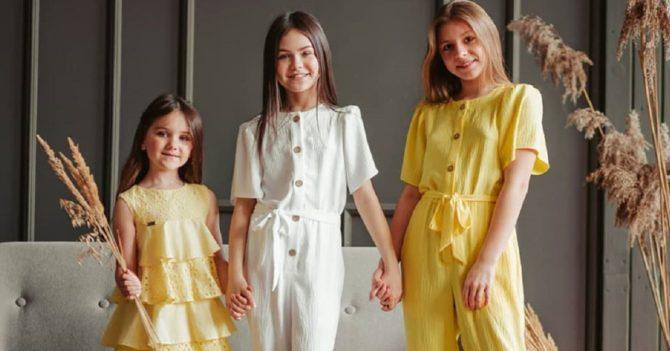 Летняя одежда для девочки: как выбрать лучшее маленькой моднице