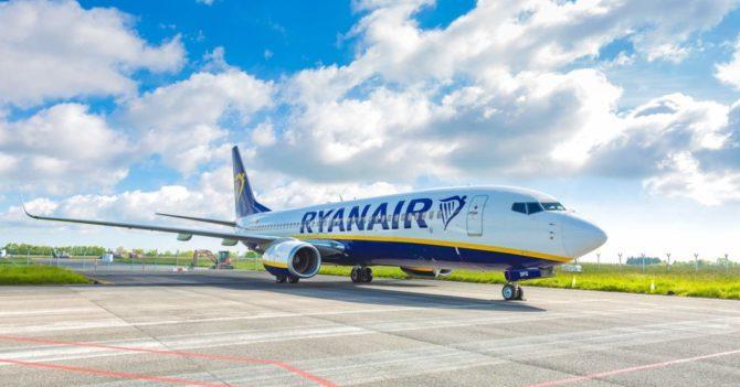 Выручка Ryanair упала на 95%