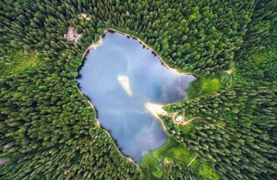 ТОП самых красивых озер Украины