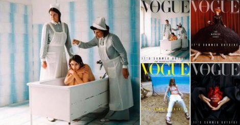 Vogue Португалия посвятил номер психическим расстройствам
