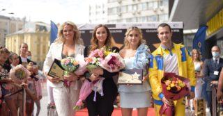 В Киеве на «Площади звезд» открыли сразу четыре звезды спорта