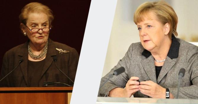 Сильные стороны женщин-переговорщиков на примере Ангелы Меркель и Мадлен Олбрайт