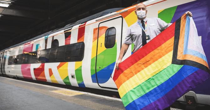 В Британии запускают ЛГБТ-поезд