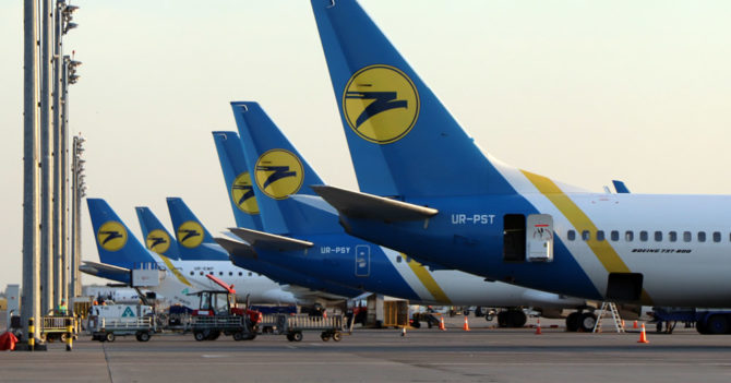 МАУ отменили рейсы в Европу до конца августа