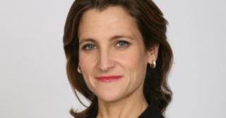 Министром финансов Канады впервые стала женщина