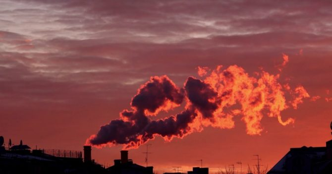 В Киеве ухудшилось состояние воздуха