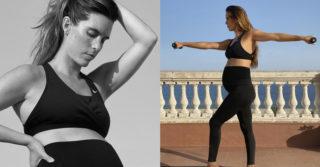 Nike впервые создал спортивную одежду для беременных