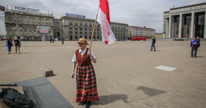 """Мать беларуской революции"" на портретах Vogue Italia"