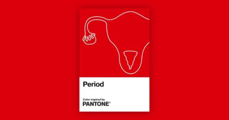 """""""Менструация"""" - новый оттенок красного от Pantone"""