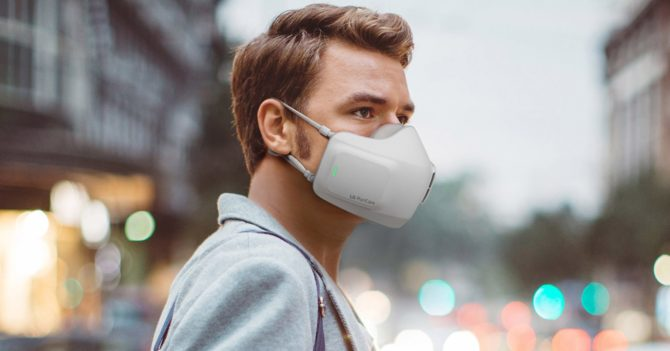 LG создали защитную маску со встроенным вентилятором