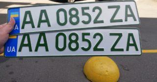 У владельцев электрокаров будут зеленые номера