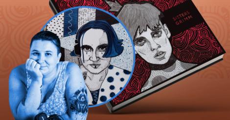 """Старые сказки по-новому: Художница Дарья Заседа о книге """"Сестры Гримм"""""""