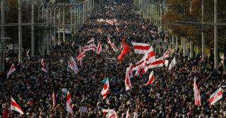 В Киеве начались съемки документального фильма о протестах в Беларуси