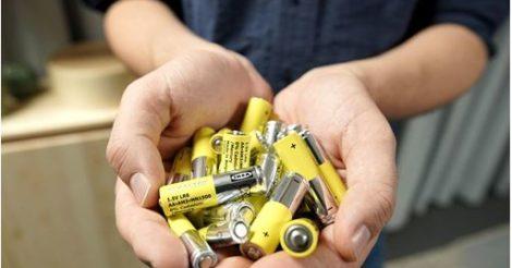 IKEA отказывается от щелочных батареек