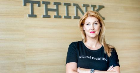 Барбора Паулович Декерова из IBM о бизнесе, материнстве и спорте