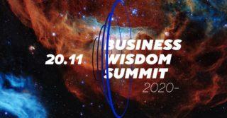 Онлайн-трансляция Business Wisdom Summit 2020 будет доступна бесплатно для всех желающих