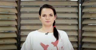 Светлана Тихановская приняла участие в женском протесте в Германии