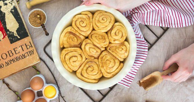 Самые вкусные булочки Синнабон с тыквой и корицей